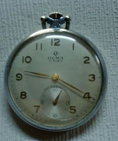 OLMA 17 RUBIS ANTIMAGNETIC - 17 JEWELS SWISS MADE - 2611 - Ανδρικά - 1950-1959