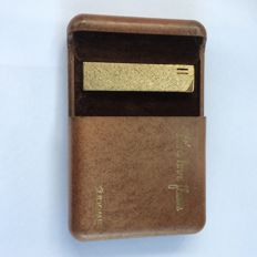 Gold plated lighter - Japan mid 20th century