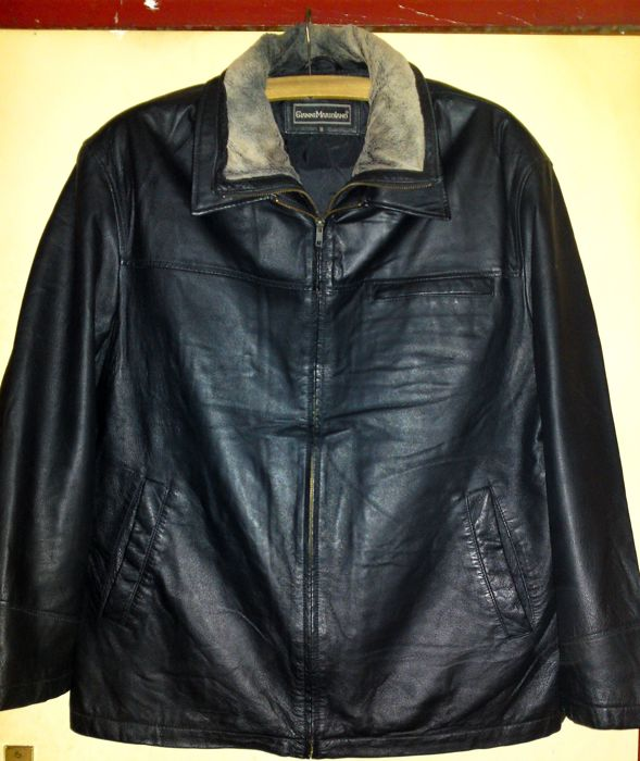 Gianni Mariolano- Leather Winter coat
