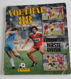Panini - Voetbal 88 - Dutch Eredivisie and first division - Complete album