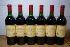 1989 Chateau Lynch-Moussas, Pauillac Grand Cru Classé - 6 bottles