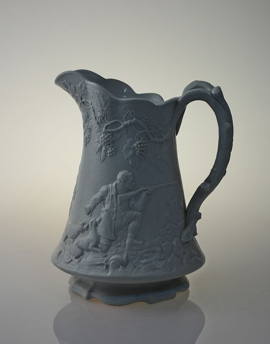 Cork & Edge Pearl - White ironstone pitcher