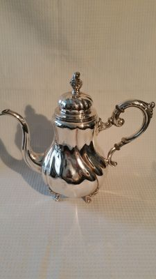 Large silver coffeepot, Core-Germany, ca 1930