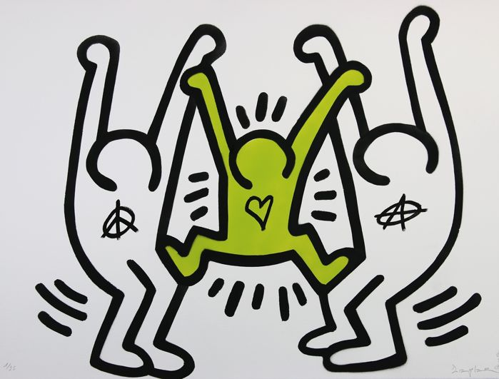 Ziegler T - My kid ruined my Keith Haring
