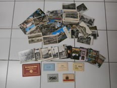 Germany-380 postcards-5 snapshots-3 postmarks period:1933-1938