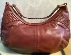 Yves Saint Laurent - Elegant smooth and woven leather bag - * No Minimum Price*