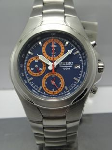 Seiko Chronograph Alarm - Date - SND325 - Men's Watch 2000-2010