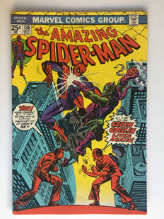 "Marvel Comics - The Amazing Spider-Man #136 - ""The Green Goblin Lives Again!"" - 1x sc - (1974)"