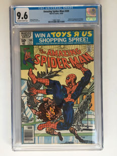 Marvel Comics -The Amazing Spider-Man #209 - Origin & 1st appearance Calypso - CGC Graded 9.6 - Extremely High Grade!- 1x sc - (1980)