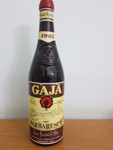 Barbaresco 1965 Gaja - 1 bottle (75cl)