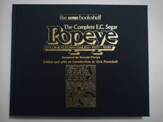 Lot of 9 volumes of The Complete E.C. Segar Popeye - X8 HC - (1985/1990)