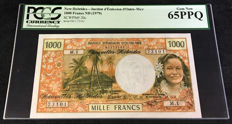 New Hebrides - 1000 Francs 1979 - Pick 20c