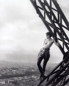 Peter Lindbergh, Herb Ritts, William Klein -  Mathilde - Tour Eiffel & Dressed in Versace veils & Roma, Piazza di Spagna