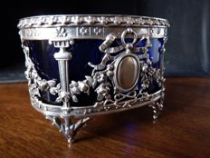 "French 950/1000 Silver Saltcellar - Silversmith ""Paul Canaux"" - 1888/1892 - Paris"