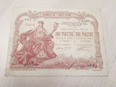 French Indo China - 1 piaster ND (1903-1921) - Pick 34b