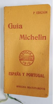 (Michelin); AA.VV. - Guía Michelin España Portugal - 1910