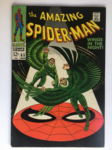 Marvel Comics - The Amazing Spider-Man #63 - The Vulture - 1x sc - (1968)