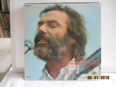 Georges Moustaki '' 7 albums & 4 more albums by french artists  incl 5 double albums''