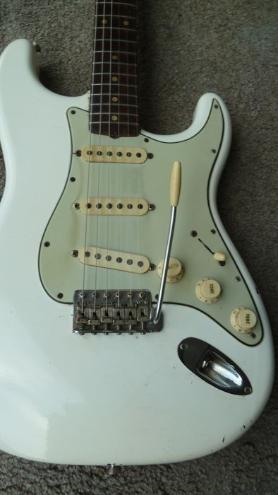 Original USA Fender Stratocaster from 1963, serial no. L 07734