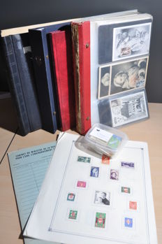 France - Large batch with albums, stock books, covers, FDCs and much more