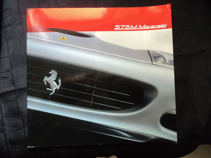 Ferrari - 575 M Maranello - rare catalogue from 2002, No. 1804 of 2000