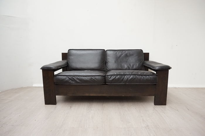 Leolux - Vintage leather sofa