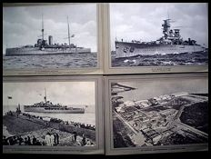 Dutch Navy; Lot with 112 printed photos and signed prints - c. 1928/1938