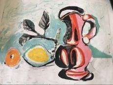Pablo Picasso (after) - Still Life with Pink Pitcher