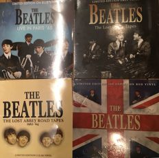 Four albums of The Beatles || Limited editions || Coloured vinyl || Live recording