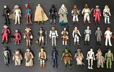 Lot of 30 Star Wars vintage Kenner figures
