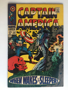 Marvel Comics - Captain America #101 - 1x sc - (1967)