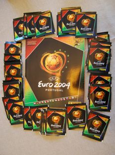 Panini - Euro 2004 - Empty Album + 36 stickers packets