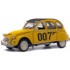 "Solido - Scale 1/18 - Citroen 2CV from the James Bond 007 movie  ""For Your Eyes Only"" 1981"