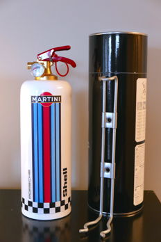 Martini Racing - Porsche - Design fire extinguisher for car