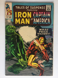 Marvel Comics -Tales Of Suspense #71 - 1st Print - (1965)