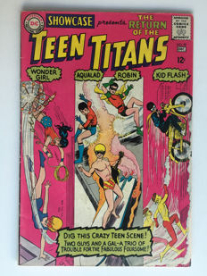 DC Comics - Showcase #59 - 3rd appearance Teen Titans - 1x sc - (1965)