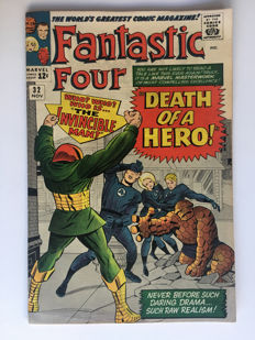 Marvel Comics - The Fantastic Four #32 - 1x sc - (1964)