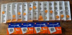 Supplies – Batch of self adhesive coin holders (750 pieces)
