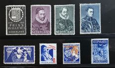 The Netherlands 1923/1933 - Selection stamps and series between NVPH 134 and 260