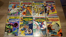 1973 Vintage Marvel Amazing Spiderman Poster and Collection of Amazing Spider-Man (Vol 1) Comics