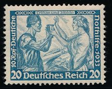 German Empire - 1923 - Wagner 20 Pf toothed 14:13, Michel 505A verified Zierer BPP