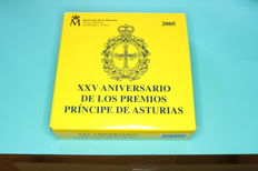 Spain 2005 - 25th Anniversary of the Prince of Asturias Awards - Proof - case only for the silver 10 euros - Proof