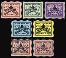 Vatican, 1931/1947 – Lot with postage due and Sede Vacante from 1939