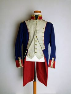 """Tunic or Jacket of Officer of Grenadiers from """"la Garde"""", France, Centenary of the Napoleonic Wars."""