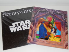 D23 - 2 Twenty-three magazines - Winter 2015 + Fall 2016 - The official Disney Fanclub