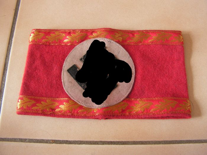 rare armband from the political party member German ww2