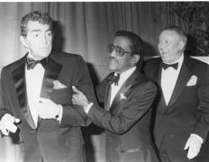 Scott Downie - Frank Sinatra, Sammy Davis Jr. and Dean Martin, 1987