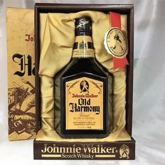 Johnnie Walker Old Harmony special release - 80's