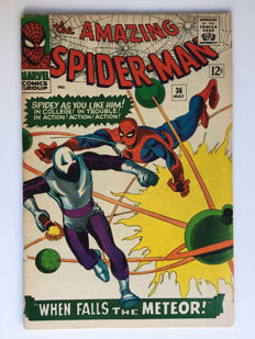 Marvel Comics - The Amazing Spider-Man #36 - first appearance the Looter - 1x sc - (1966)