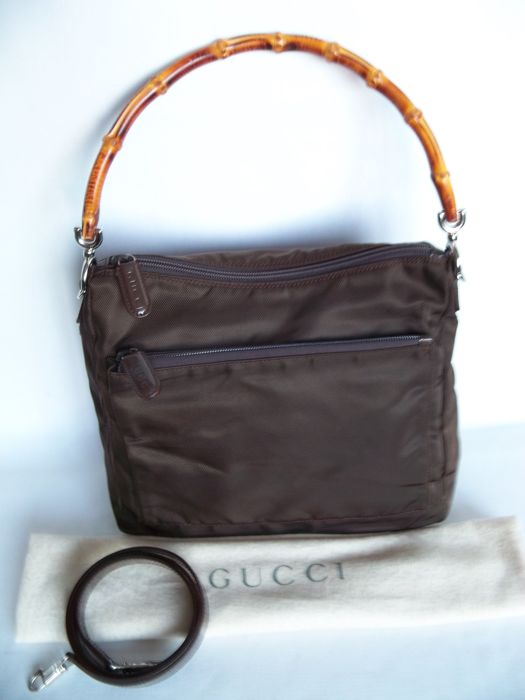 bd472a05989 Gucci Bamboo handbag shoulderbag - No Reserve Price!  - Catawiki